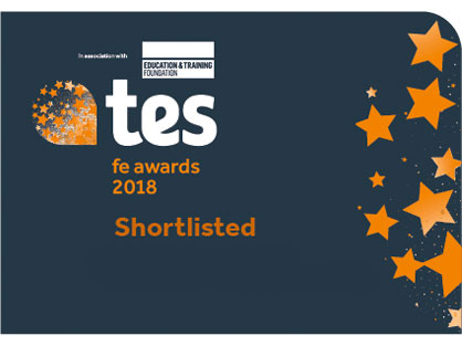 tes fe awards 2018 shortlisted
